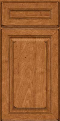 Square Raised Panel - Solid (LCM) Maple in Burnished Praline - Base