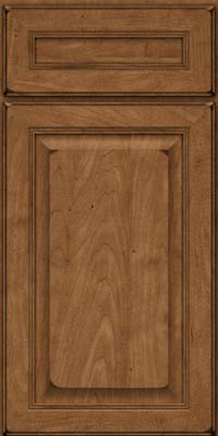 Square Raised Panel - Solid (LCM) Maple in Burnished Rye - Base