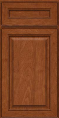 Square Raised Panel - Solid (LCM) Maple in Chestnut - Base