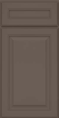 Square Raised Panel - Solid (LCM) Maple in Greyloft - Base