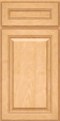 Square Raised Panel - Solid (LCM) Maple in Honey Spice - Base