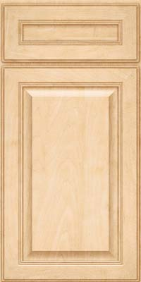 Square Raised Panel - Solid (LCM) Maple in Natural - Base