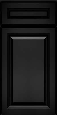Square Raised Panel - Solid (LCM) Maple in Onyx - Base