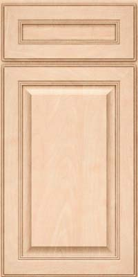 Square Raised Panel - Solid (LCM) Maple in Parchment - Base