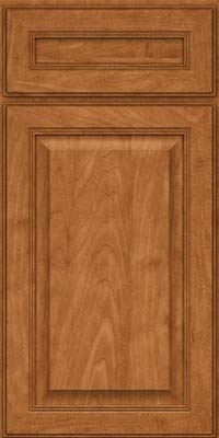Square Raised Panel - Solid (LCM) Maple in Praline - Base