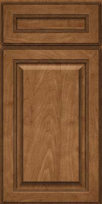 Square Raised Panel - Solid (LCM) Maple in Rye - Base