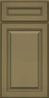 Square Raised Panel - Solid (LCM) Maple in Sage - Base