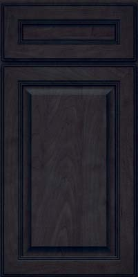 Square Raised Panel - Solid (LCM) Maple in Slate - Base