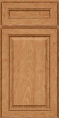 Square Raised Panel - Solid (LCM) Maple in Toffee - Base
