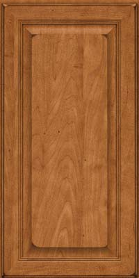 Square Raised Panel - Solid (LCM) Maple in Burnished Praline - Wall