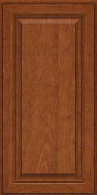 Square Raised Panel - Solid (LCM) Maple in Chestnut - Wall