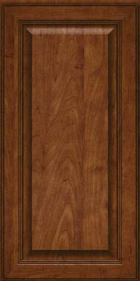 Square Raised Panel - Solid (LCM) Maple in Cognac - Wall