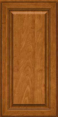 Square Raised Panel - Solid (LCM) Maple in Golden Lager - Wall