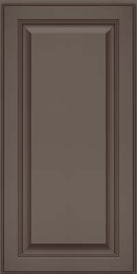 Square Raised Panel - Solid (LCM) Maple in Greyloft w/ Sable Glaze - Wall