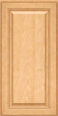 Square Raised Panel - Solid (LCM) Maple in Honey Spice - Wall