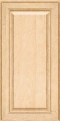 Square Raised Panel - Solid (LCM) Maple in Natural - Wall