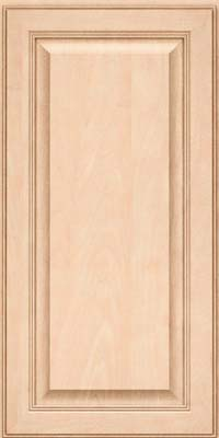 Square Raised Panel - Solid (LCM) Maple in Parchment - Wall