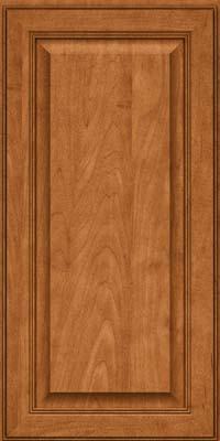 Square Raised Panel - Solid (LCM) Maple in Praline w/Mocha Highlight - Wall