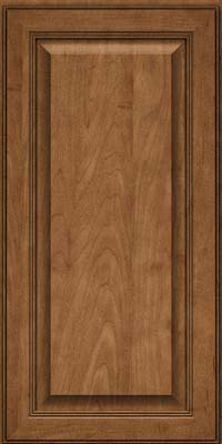 Square Raised Panel - Solid (LCM) Maple in Rye - Wall