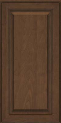 Square Raised Panel - Solid (LCM) Maple in Saddle Suede - Wall