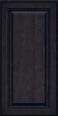 Square Raised Panel - Solid (LCM) Maple in Slate - Wall