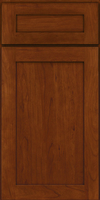 Square Recessed Panel - Veneer (LY) Cherry in Autumn Blush - Base