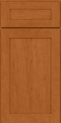Square Recessed Panel - Veneer (LY) Cherry in Honey Spice - Base