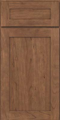Square Recessed Panel - Veneer (LY) Cherry in Husk - Base
