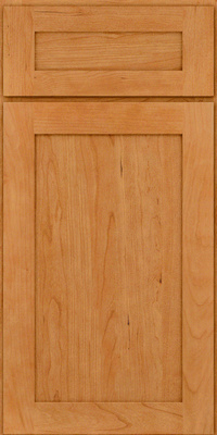 Square Recessed Panel - Veneer (LY) Cherry in Natural - Base