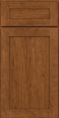 Square Recessed Panel - Veneer (LY) Cherry in Rye - Base