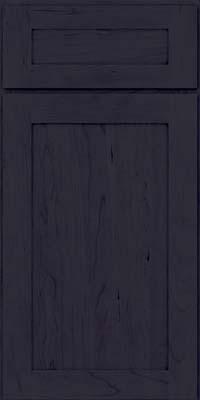 Square Recessed Panel - Veneer (LY) Cherry in Slate - Base