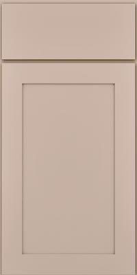 Square Recessed Panel - Veneer (MP1) Maple in Chai - Base