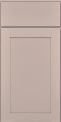 Square Recessed Panel - Veneer (MP1) Maple in Chai w/Cinder Glaze - Base
