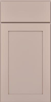 Square Recessed Panel - Veneer (MP1) Maple in Chai w/Cocoa Glaze - Base