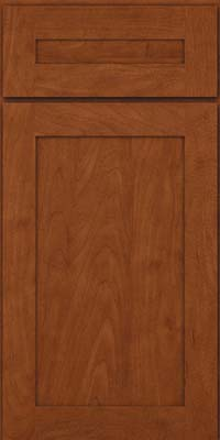 Square Recessed Panel - Veneer (MP) Maple in Chestnut - Base