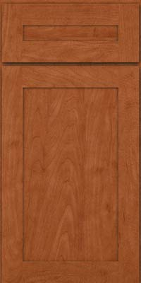 Square Recessed Panel - Veneer (MP) Maple in Cinnamon - Base