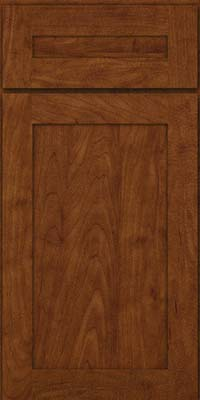 Square Recessed Panel - Veneer (MP) Maple in Cognac - Base