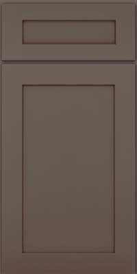 Square Recessed Panel - Veneer (MP) Maple in Greyloft w/ Sable Glaze - Base