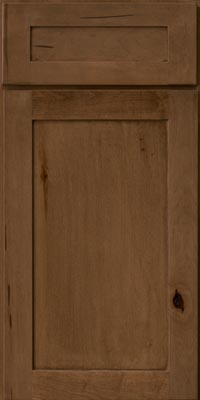 Square Recessed Panel - Veneer (AC7M1) Maple in Hazel - Base