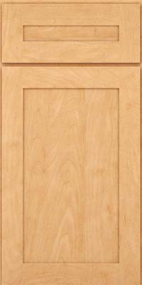 Square Recessed Panel - Veneer (MP) Maple in Honey Spice - Base