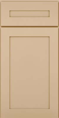 Square Recessed Panel - Veneer (MP) Maple in Mushroom - Base