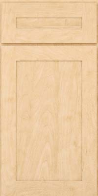Square Recessed Panel - Veneer (MP) Maple in Natural - Base