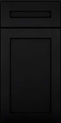 Square Recessed Panel - Veneer (MP) Maple in Onyx - Base