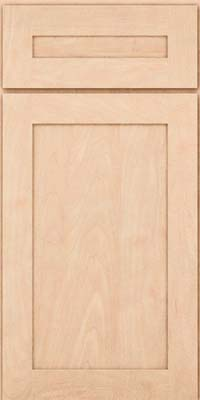Square Recessed Panel - Veneer (MP) Maple in Parchment - Base