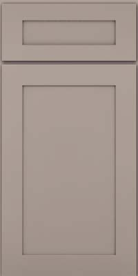 Square Recessed Panel - Veneer (MP) Maple in Pebble Grey - Base
