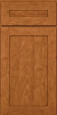 Square Recessed Panel - Veneer (MP) Maple in Praline w/Mocha Highlight - Base