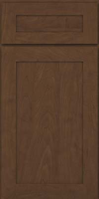 Square Recessed Panel - Veneer (MP) Maple in Saddle - Base