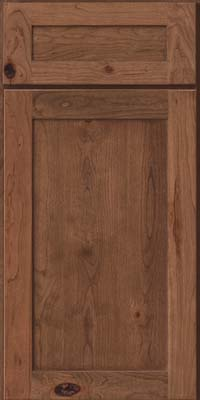 Square Recessed Panel - Veneer (AC7C) Rustic Cherry in Husk - Base