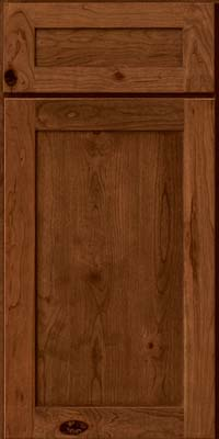 Square Recessed Panel - Veneer (AC7C) Rustic Cherry in Rye - Base