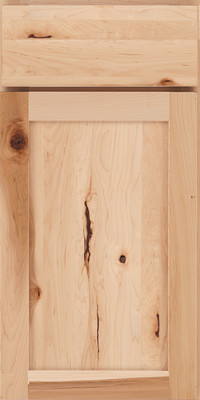 Square Recessed Panel - Veneer (AC7M) Rustic Maple in Natural - Base